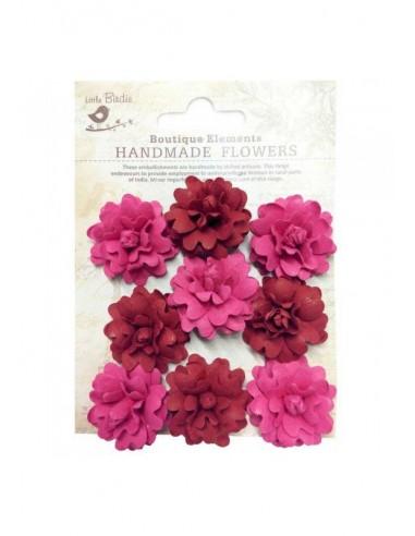 Flores de papel Boutique Elements rosas rojas