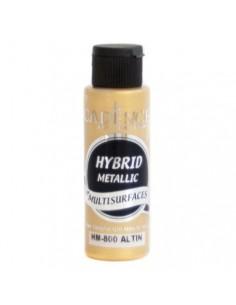 Pintura multisuperficies hybrid metalizada oro