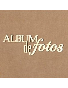 Chipboard Álbum de fotos