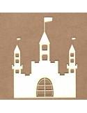 Chipboard Castillo medieval