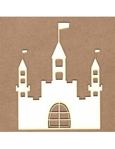 Chipboard Castillo medieval