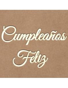 Chipboard Cumpleaños feliz