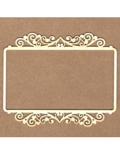 Chipboard marco elegancia rectangular