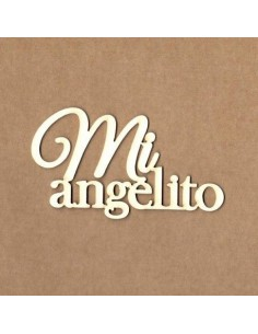 Chipboard mi angelito