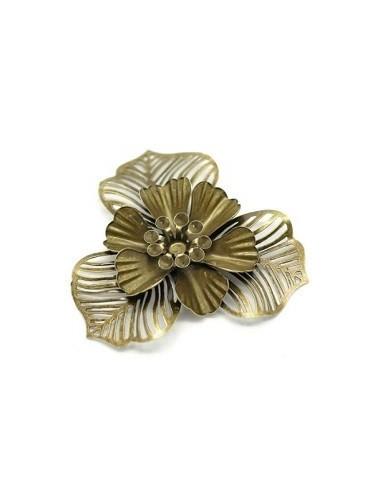 Filigranas 3D flor de 47mm (3 unidades)