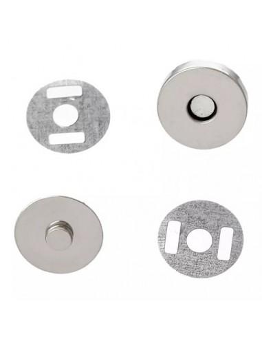 Cierre magnético 18mm (5 unidades)
