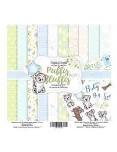 kits papeles Puffy Fluffy boy
