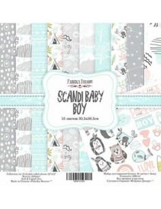 kits papeles Scandi baby boy