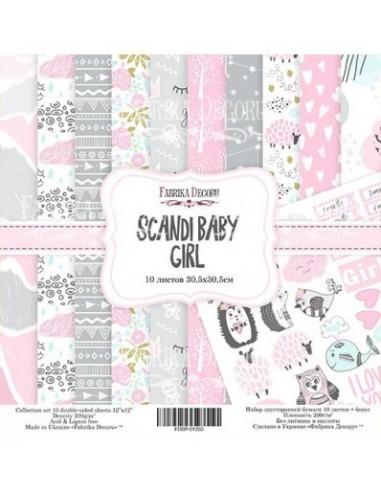 kits papeles Scandi baby girl