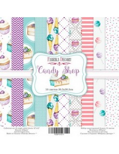 kits papeles Candy shop
