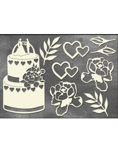 Set Chipboard boda