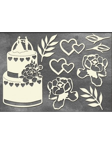 Set Chipboard boda