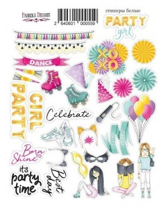 Stickers Party Girl