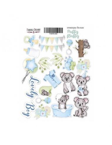 Stickers Puffy Fluffy boy