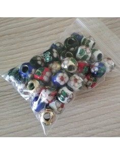 Bolas CLOISONNE 10mm mixto