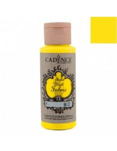 Style Matt Fabric amarillo limón