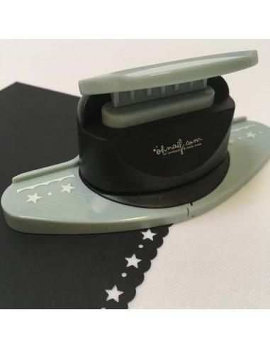 Perforadora bordes estrellas pequeñas