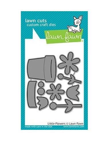Troquel Little Flowers dies Lawn Fawn