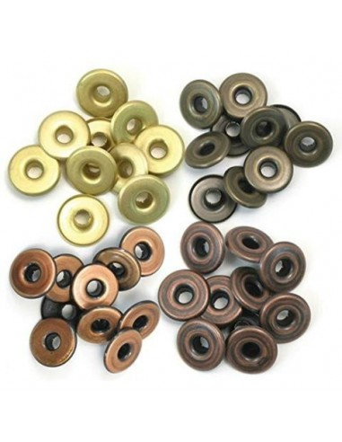 Eyelets wide warm metals