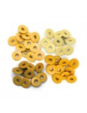 Eyelets wide yellow