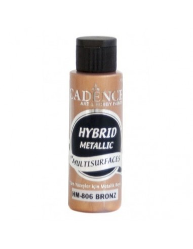 Pintura multisuperficies hybrid metalizada bronce