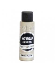 Pintura multisuperficies hybrid metalizada platino