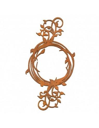 siluetas DM marco circular ramas largas