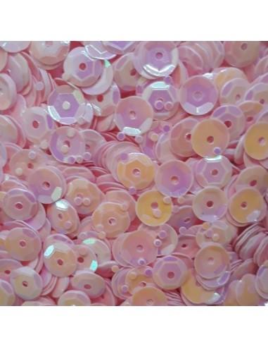 Lentejuelas irisadas pink