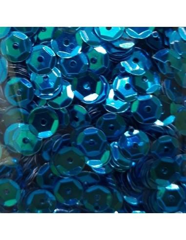 Lentejuelas brillantes azul