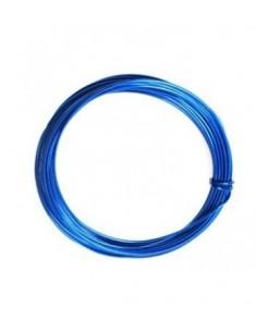 Alambre de aluminio 1mm azul medio
