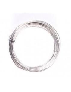 Alambre de aluminio 1mm plata