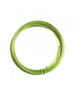 Alambre de aluminio 1mm verde manzana
