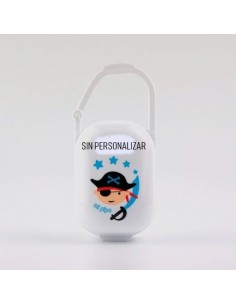 Portachupetes pirata no personalizado
