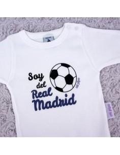 Bodie personalizado Soy del Real Madrid