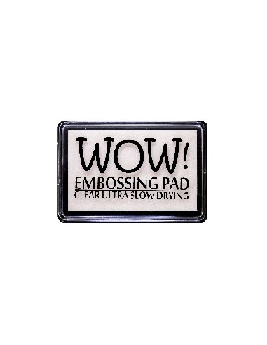 Tinta embossing Wow! Clear ultra slow