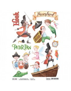 Papel de arroz A4 Neverland - Ciao Bella