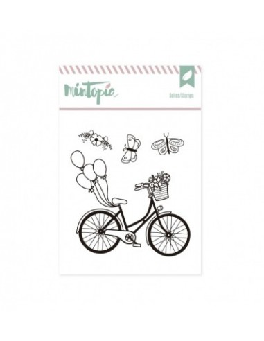 Sello bicicleta - Mintopía