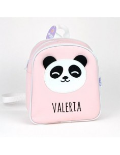 Mochila personalizada Panda rosa