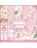 Kit papeles Stamperia Baby girl