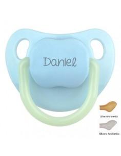 Chupete personalizado baby night azul