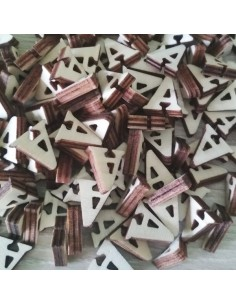 Letras de madera 2cm Letra A