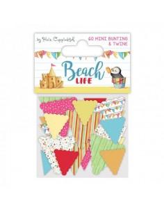 Mini banderines Beach life