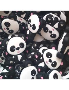 Osito panda de silicona