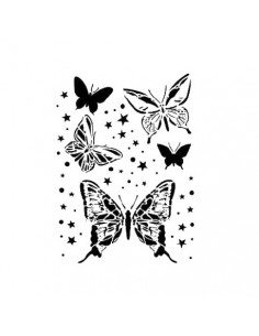 Stencil Cadence Mariposas y...