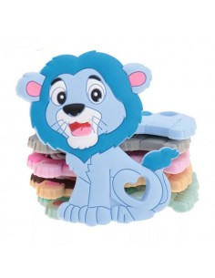 Mordedor de silicona león