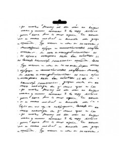 Stencil texto manuscrito