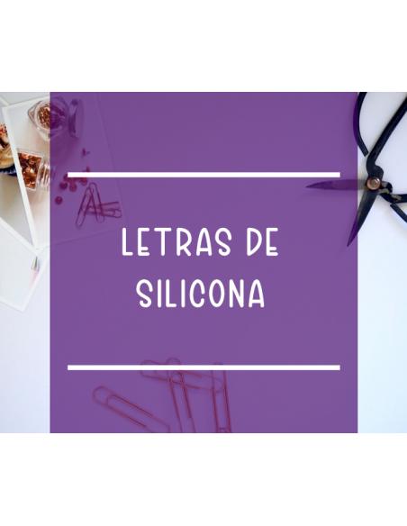 Letras de silicona