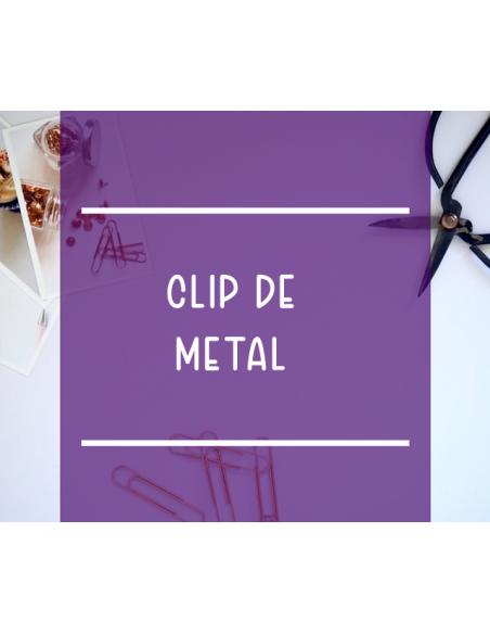 Clips de metal