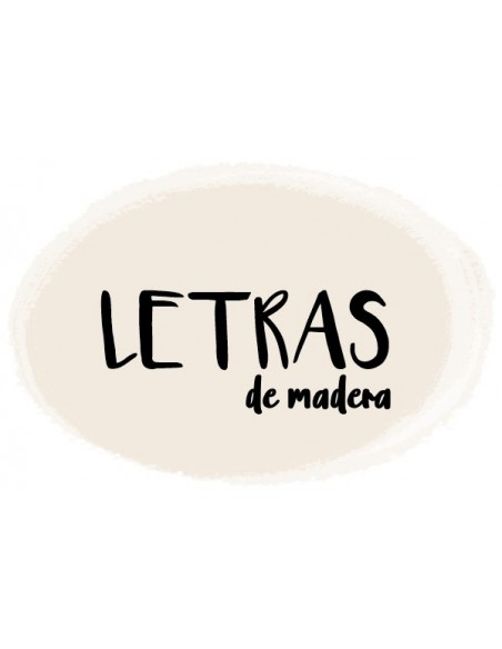 Letras para manualidades
